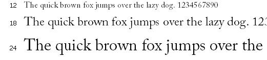 font chu serif
