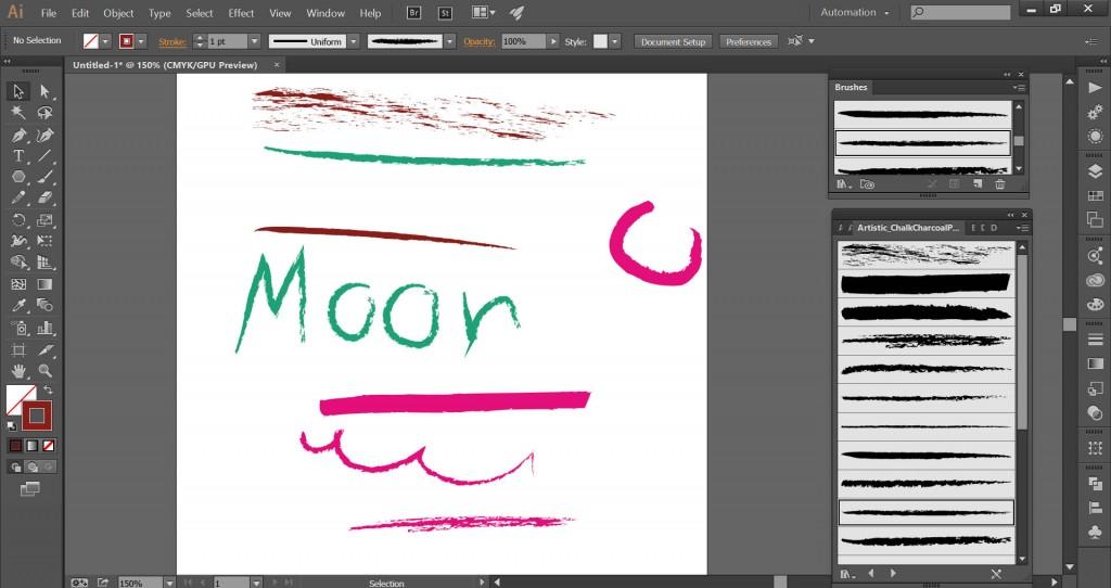 brush trong illustrator 1
