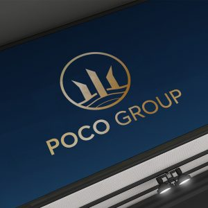Thiết kế logo xây dựng Poco Group